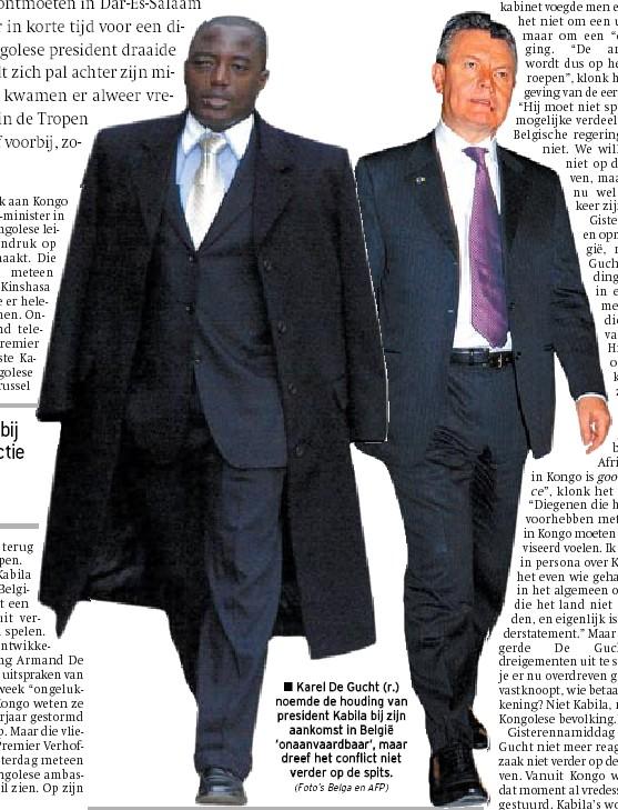 Karel met zijn Afrikaanse vriend